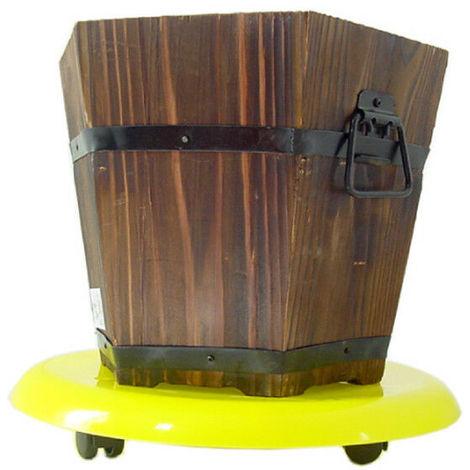 Carrello supporto a 3 ruote portavaso sottovaso portavasi porta vaso vasi tutto