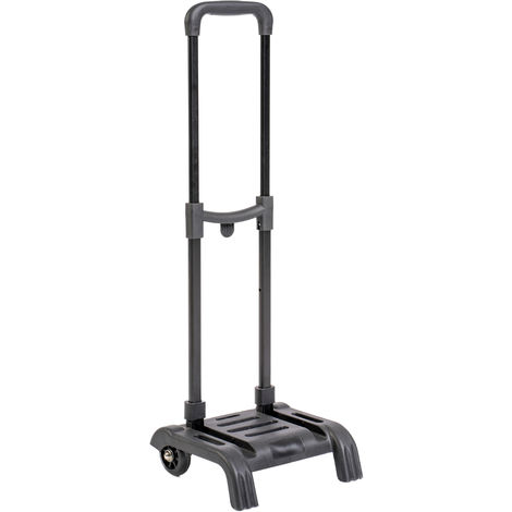 Carrello Trolley Portapacchi Pieghevole In ABS, Dotato di Ruote e Struttura Richiudibile