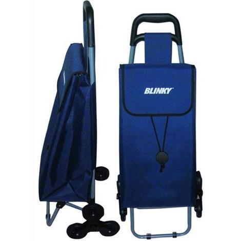 Carrello Trolley Portaspesa Blinky Agility Per Gradini Con 3 Ruote 33X22X57 Cm