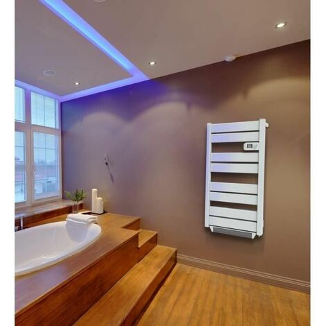 "main image of ""CARRERA Flimmo 500 watts + soufflerie 1000 watts - Radiateur Seche serviette électrique - Barres plates"""