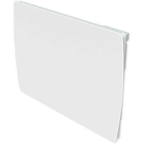 Cayenne Radiateur à inertie Céramique Verre Blanc LCD 1000W