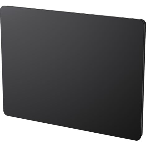 "main image of ""Cayenne panneau rayonnant 2000W verre noir LCD - Noir"""
