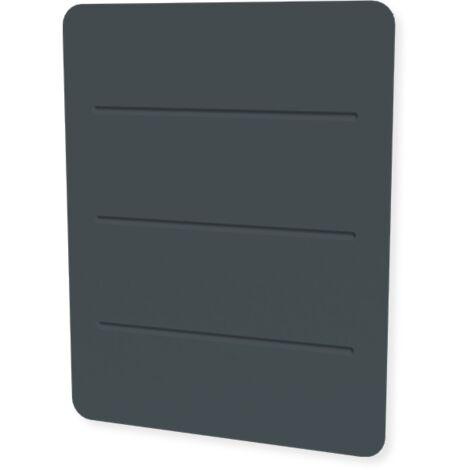 Carrera radiateur à céramique + film gris anthracite commande tactile - Plusieurs puissances disponibles