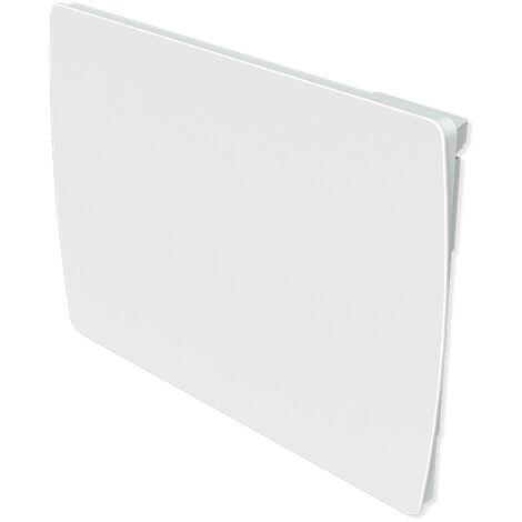 Carrera radiateur � inertie C�ramique Verre Blanc LCD 1000W - Blanc