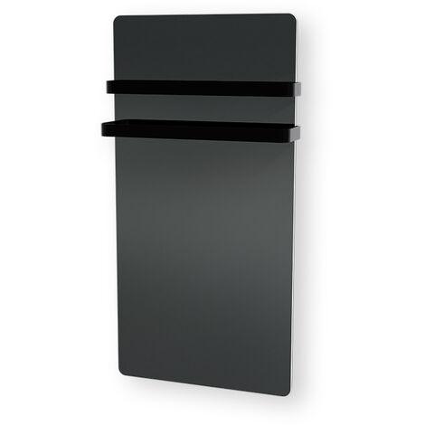 Carrera radiateur sèche serviette 1000W miroir LCD