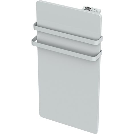 Carrera radiateur sèche-serviette 1000W verre blanc LCD