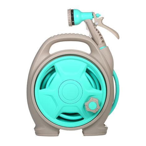 Carrete de manguera de jardin retractil, herramientas de limpieza de automoviles