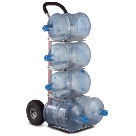 Carretilla 5 Botellas Agua - Ruedas neumatica 4 capas