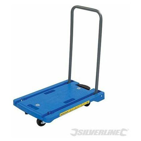 """main image of """"Carretilla de transporte con plataforma de polipropileno, 100 kg"""""""