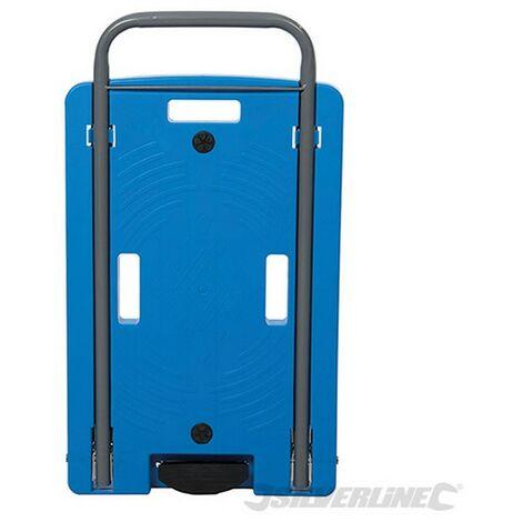 Carretilla de transporte con plataforma de polipropileno (100 kg)