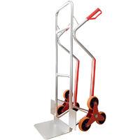 Carretilla especial escaleras de aluminio con zapatas antideslizantes – Capacidad de 150 kg