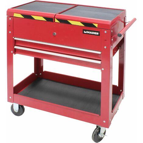 Carretilla para Herramienta - 3 compartimientos, c/2 cajón - MADER® | Power Tools