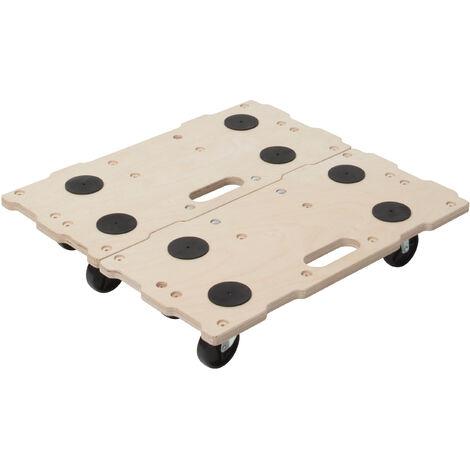 Carretilla para muebles con diseño de puzzle FT 400