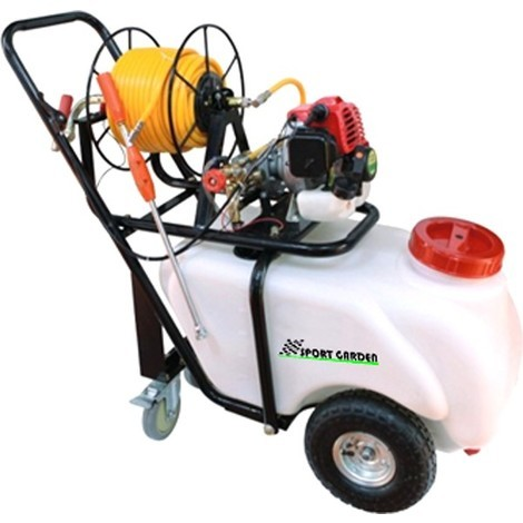 Carretilla sulfatadora 60 litros 26 cc - Ausavil ( SPORT GARDEN ) SGP60T..