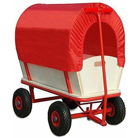 Carretto carrello rimorchio spinta per trasporto da giardino 168x46 caricom180kg