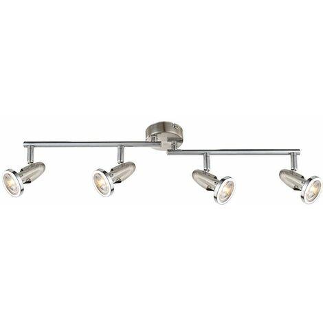 carril luz de techo de forma móvil lámpara del sitio de plata huésped 4-llama 20 vatios LED Lion 5741998-3