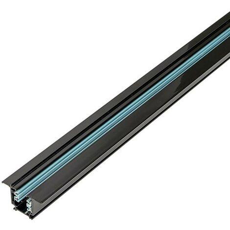 Carril trifásico empotrable para focos LED - barra 2 metros