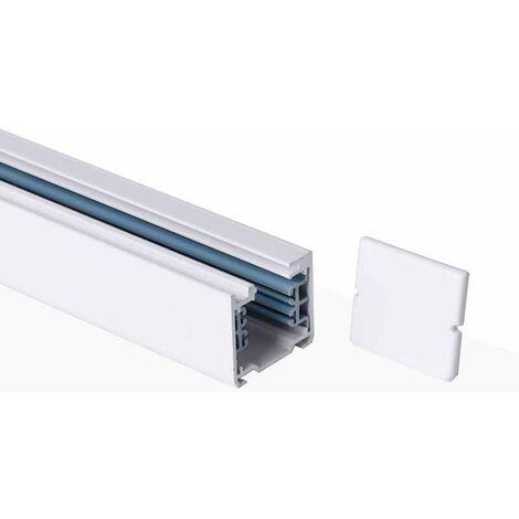 Carril trifásico para focos LED - barra 2 metros