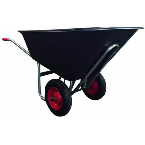 Carriole Vigor Big 2-Ruote Vasca Nera Plastic Lt. 240