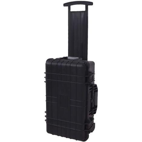 Carrito caja de herramientas con gomaespuma dentro
