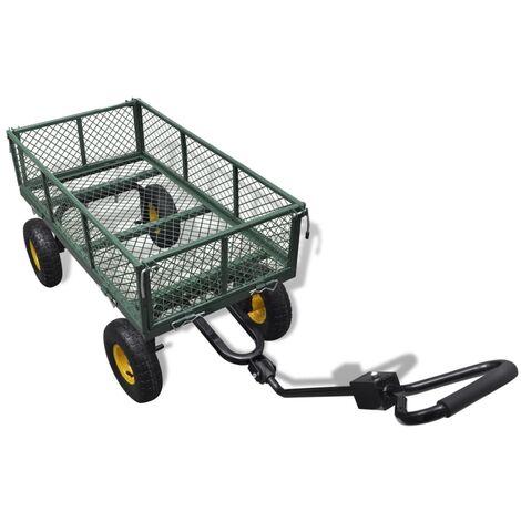 Carrito para el jardín con carga máxima de 350 kg