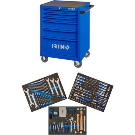 Carro 26 6 cajones con 176 herramientas en foam 9066K6FF101 IRIMO