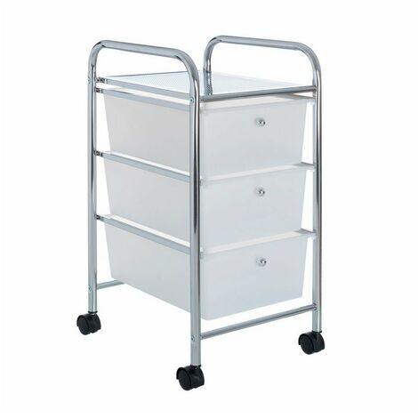 """main image of """"Carro baño 3 cajones plástico c/ruedas"""""""