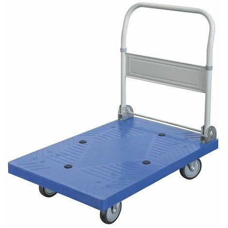 Carro con plataforma en PVC 400kg FERVI C300