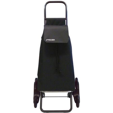 Carro de compra Saquet Ln Rd6 43 L negro 6 ruedas (Rolser SAQ006)