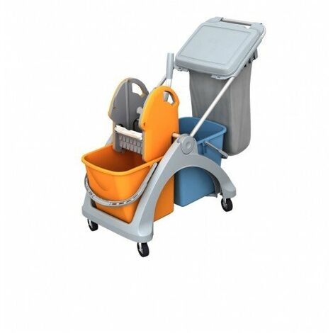 Carro de limpieza multifuncional TSK-0009