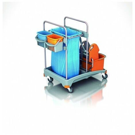 Carro de limpieza multifuncional TSS-0005