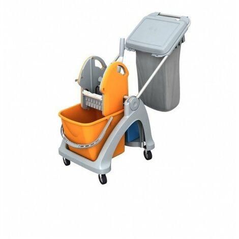 Carro de limpieza profesional TSK-0004