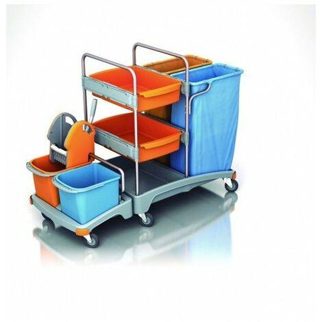 Carro de limpieza profesional TSZ-0019