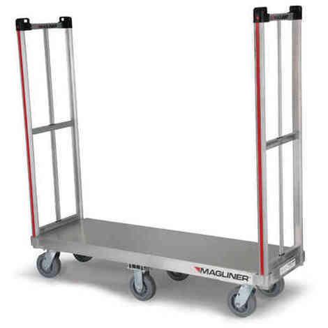 Carro industrial - 360ª - Ruedas voladizas - Desmontable - Cap. 850 kg