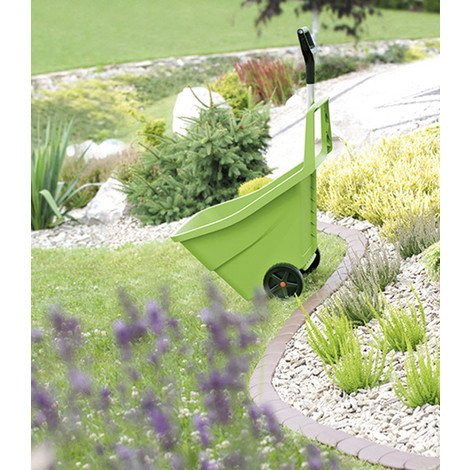 Carro Jardin Multiusos C/Rueda 85 L - INTEPLAS - EW085VE