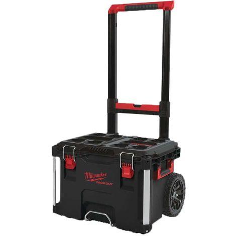Carro para maletines de transporte MILWAUKEE PACKOUT - 560x410x480 - 4932464078