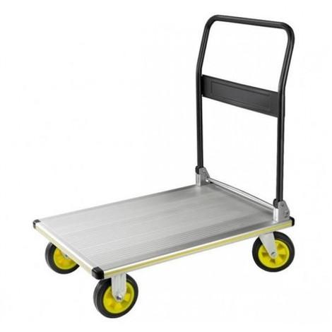 Carro plataforma asa acero carriv alu pleg 300kg pt300n