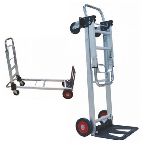 Carro Plataforma Brico | Carga maxima 90 kg. Ruedas 150 mm impinchables | Carrito transporte mercancias