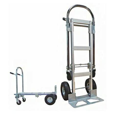 Carro Plataforma Industrial | Peso max 200kg. Ruedas 260mm impinchables | Carga y transporte de mercancias