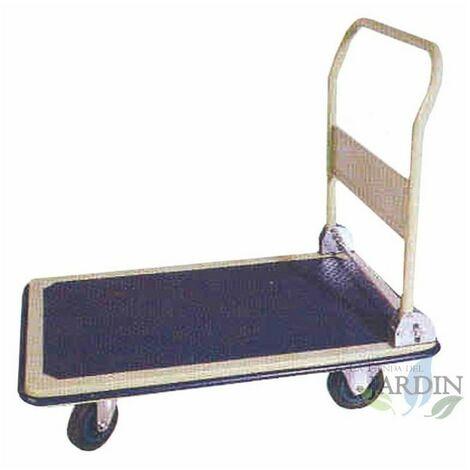 Carro plataforma plegable 74x48, máxima carga 150 Kg