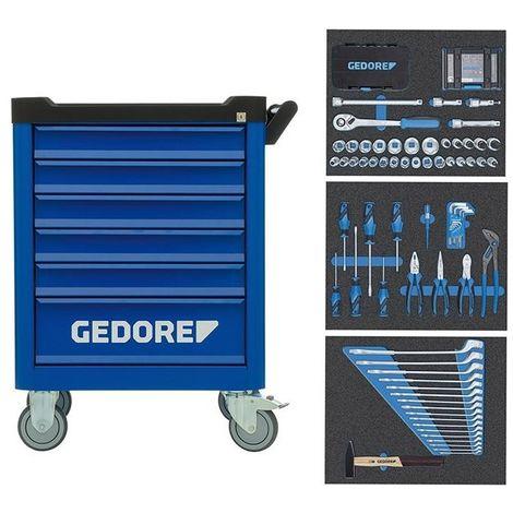 Carro (rodador) herramientas Smartline 172-unidades GEDORE