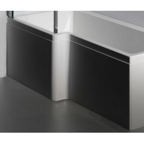 Carron 1600mm Carronite Shower Bath Front Panel White