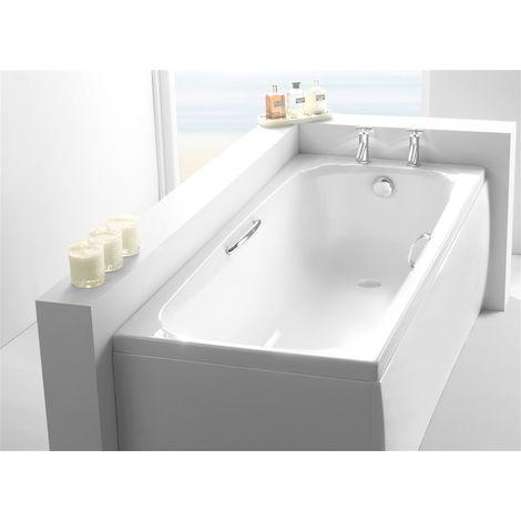 Carron - 8mm Swallow Twin Grip 1700x700mm Carron Bath - White