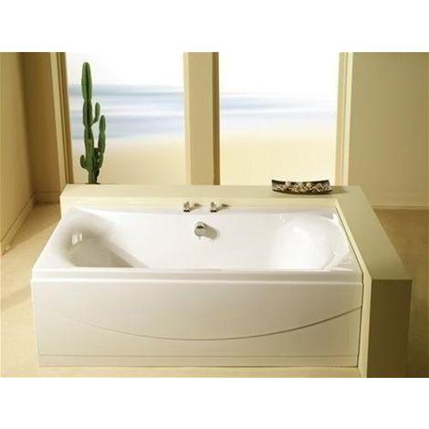 Carron - Carronite Alpha DE 1700x700mm Carron Bath - White