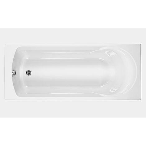 Carron - Carronite Arc Single Ended 1500x700mm Juve Bath - White