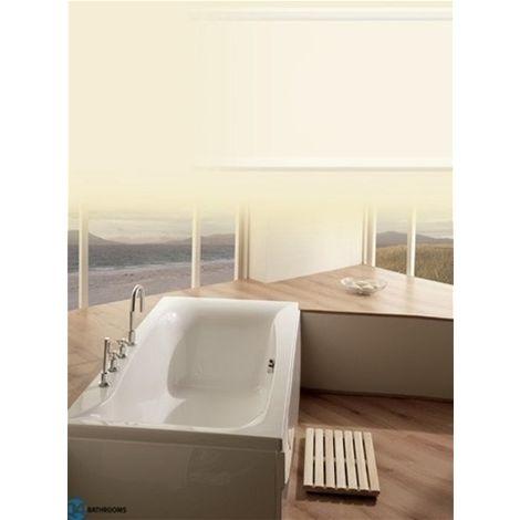 Carron - Carronite Linea Double Ended 1900x900mm Bath - White