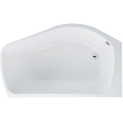 Carron - Carronite Profile Shower Bath 1500x900mm LH - White