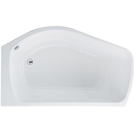 Carron - Carronite Profile Shower Bath 1500x900mm RH - White