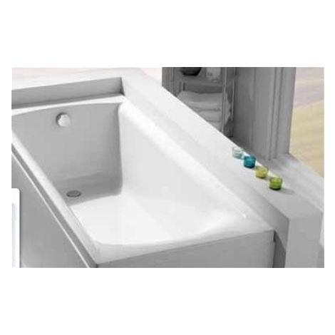 Carron - Carronite Sigma 1800x800mm Bath (540 PNL) - White