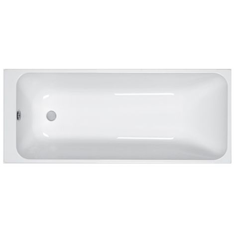 Carron - Carronite Single Ended Profile 1700x700mm Plain CarronBath - White